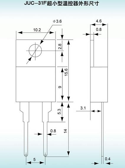 电路板小电流温控juc系列